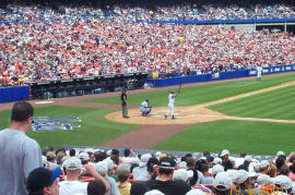 Baseball in Shea Stadium